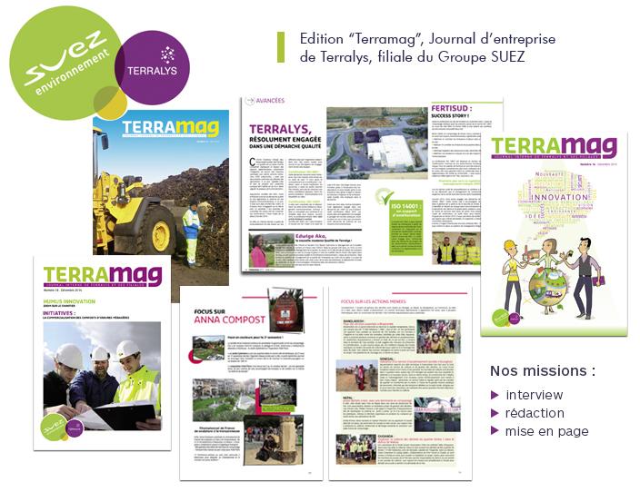 Suez Journal entreprise Terramag Odalis