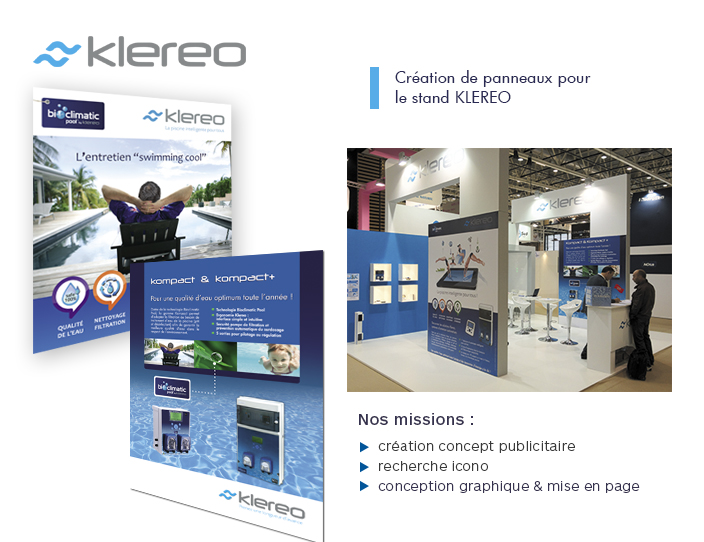 Klereo panneaux stands Odalis