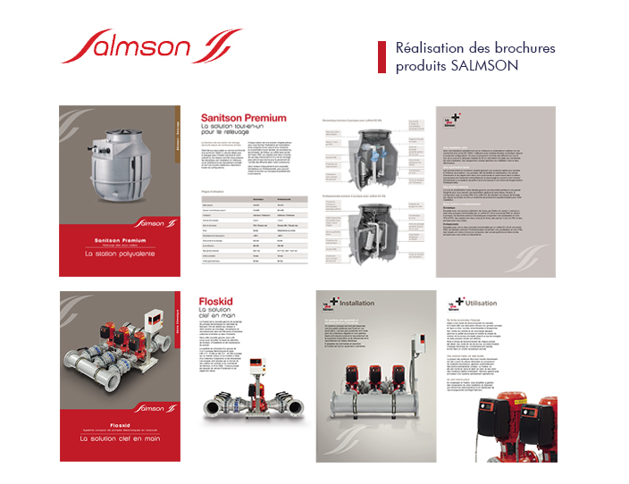 Salmson brochures commerciales Odalis